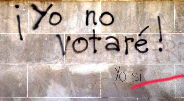 yo no votaré