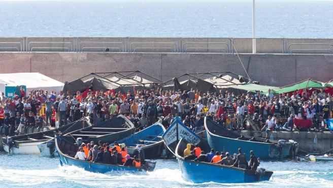 migrantes arguineguin